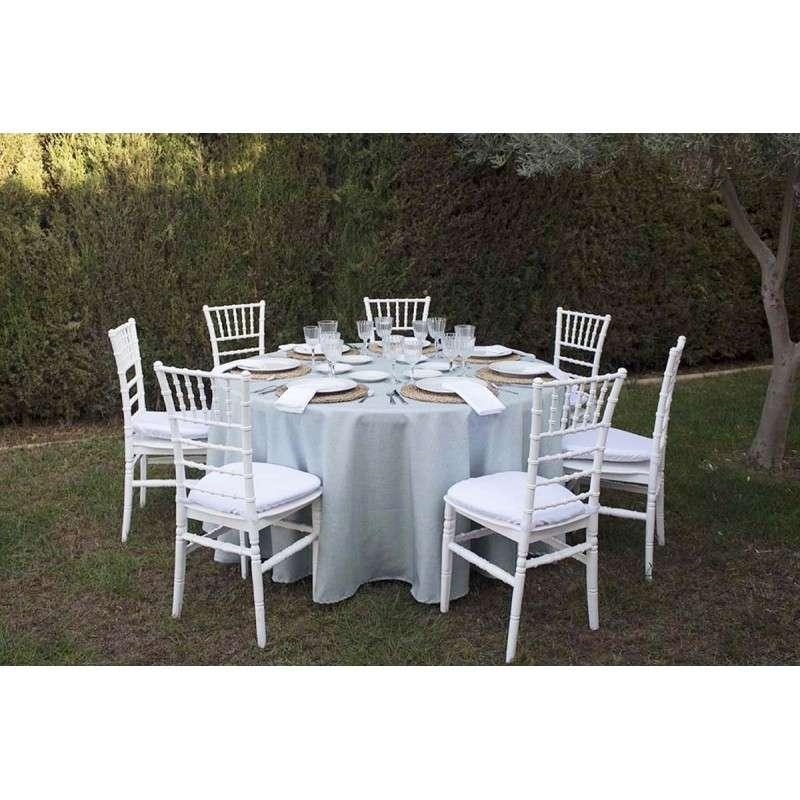 mantel para mesa redonda