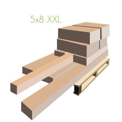 paletización carpa 5X8 XXL