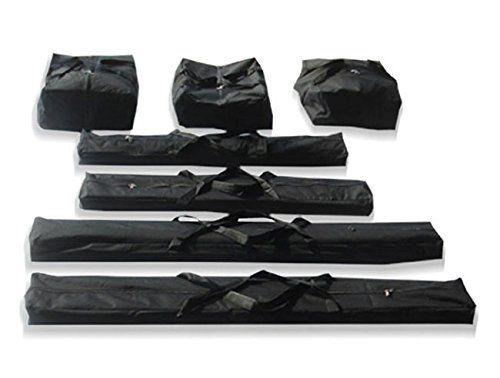 Carpas plegables con diseño liviano y fácil de transportar